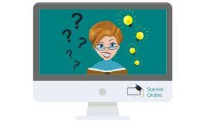 Waarom komt die online training er niet van